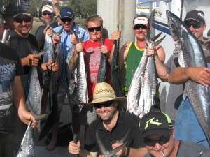 On Board with Spanish mackerel
