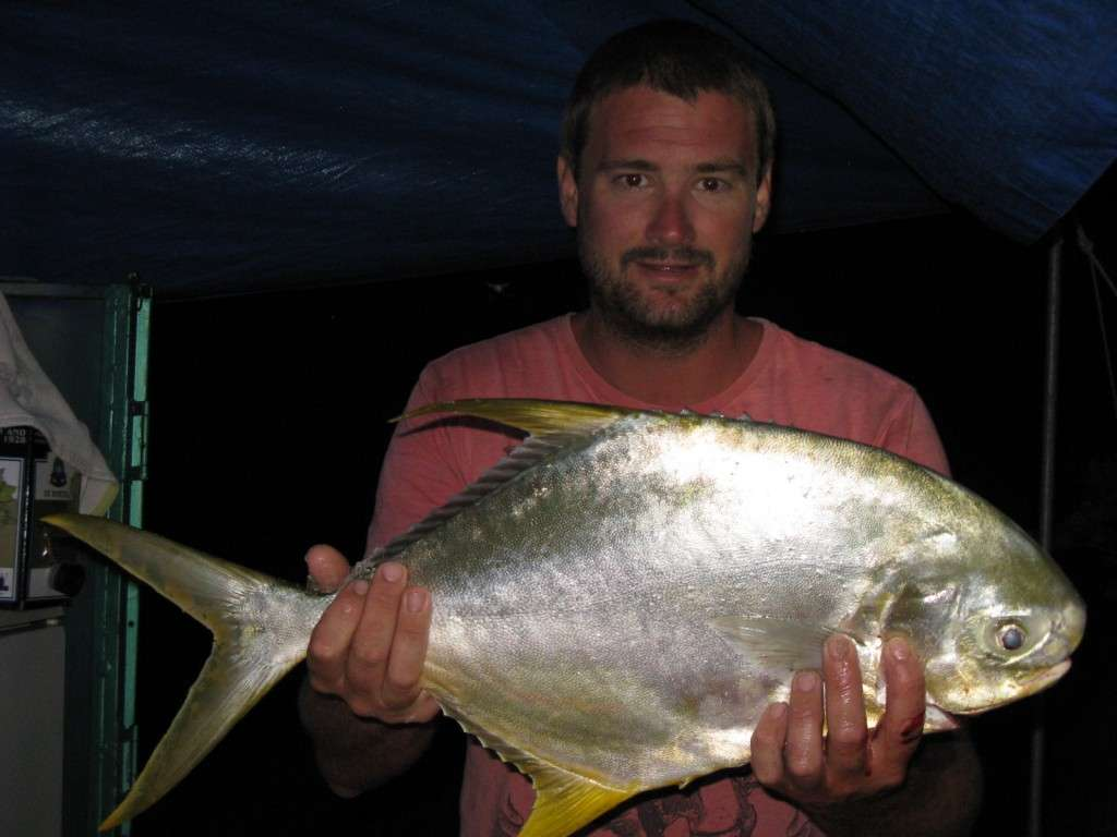 got this 63cm permit or snub nose dart while camping at bribie last week