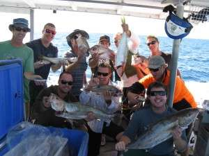Group fishing trip