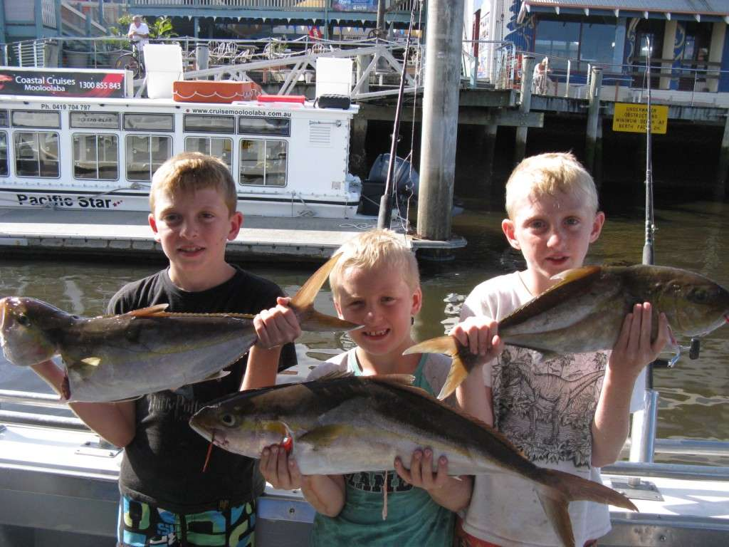 amberjack to 5kg from the banks