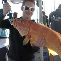 5kg coral trout on a halfday