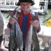mackerel on all inshore reefs
