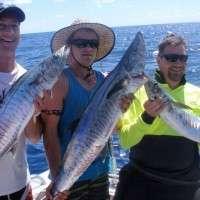 Group fishing tour Sunshine Coast