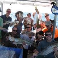 Group fishing trip