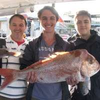 7KG SNAPPER FROM CALOUNDRA WIDE